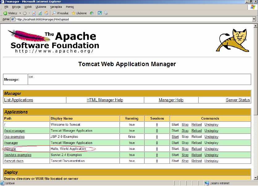 Apache Tomcat and Java EE Administration - Training Material